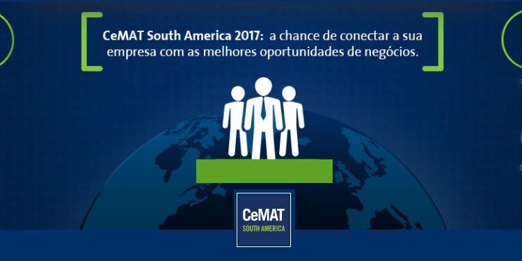 Feira CEMAT 2017 apresenta as inovações do setor de logística