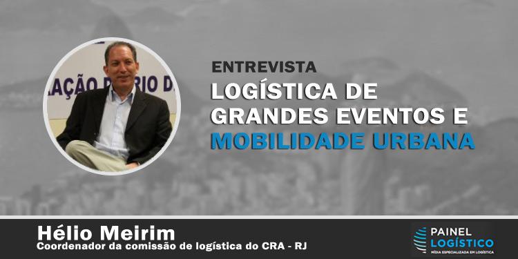 Entrevista sobre a logística para grandes eventos e mobilidade urbana do Rio de janeiro