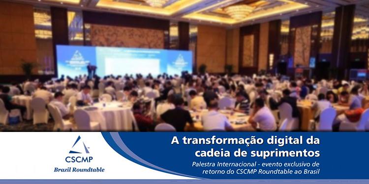 Evento CSCMP Roundtable Brazil 2017: Palestra internacional