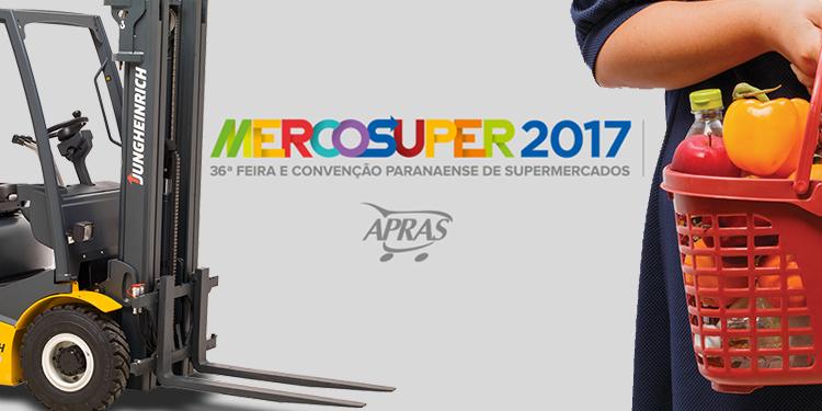 Setor supermercadista: Jungheinrich apresenta soluções logísticas na mercosuper 2017