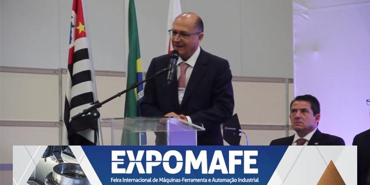 EXPOMAFE 2017: Governador Geraldo Alckmin participa da abertura oficial do evento, em São Paulo