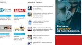 Espaço publicitário - portal painel logístico posição inferior - anuncio lateral pequeno