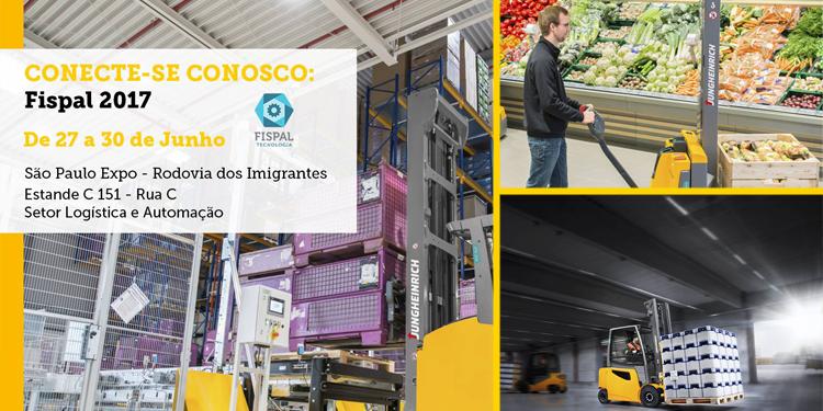 Jungheinrich na FISPAL 2017: Conheça suas soluções voltadas para a automação na logística e a indústria 4.0