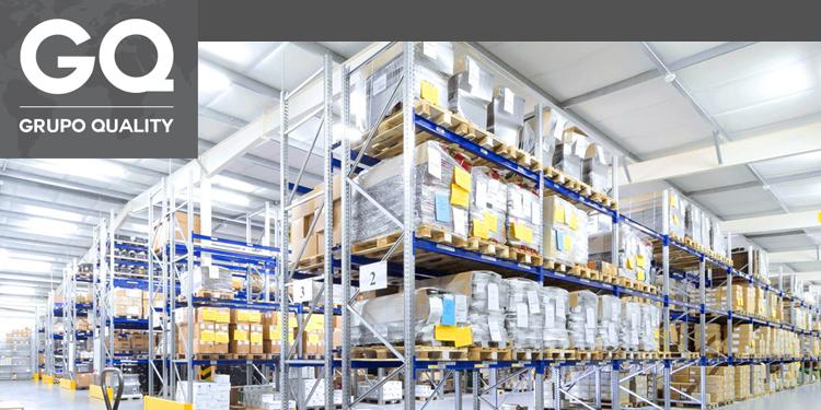 Grupo Quality sobre a distribuição logística em multinível.