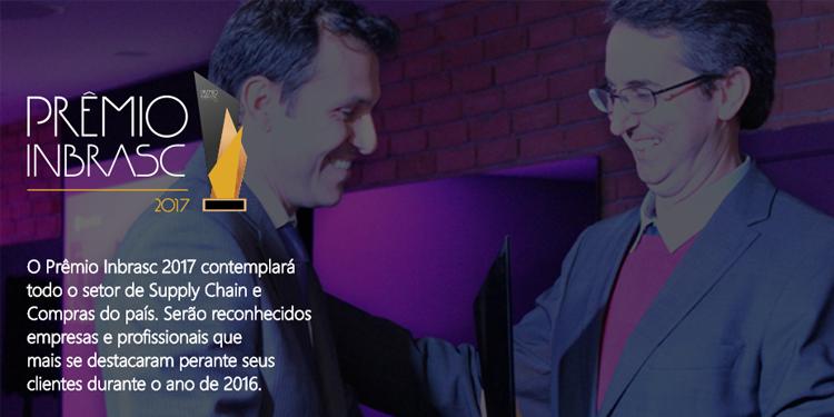 Saiba mais sobre a cerimônia do Prêmio Inbrasc 2017, da Instituto Brasileiro de Supply Chain,